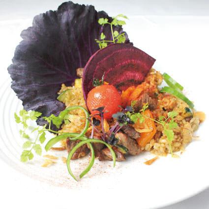 ·米飯·牛肉片和日本米飯〜喜歡海鮮飯〜