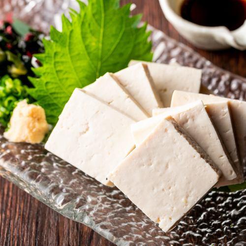 島豆腐の刺身