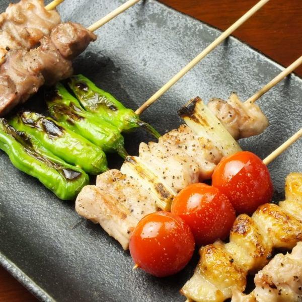Omakase什錦串燒