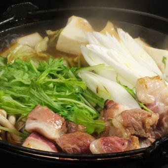 伊比利亞豬肉壽喜燒