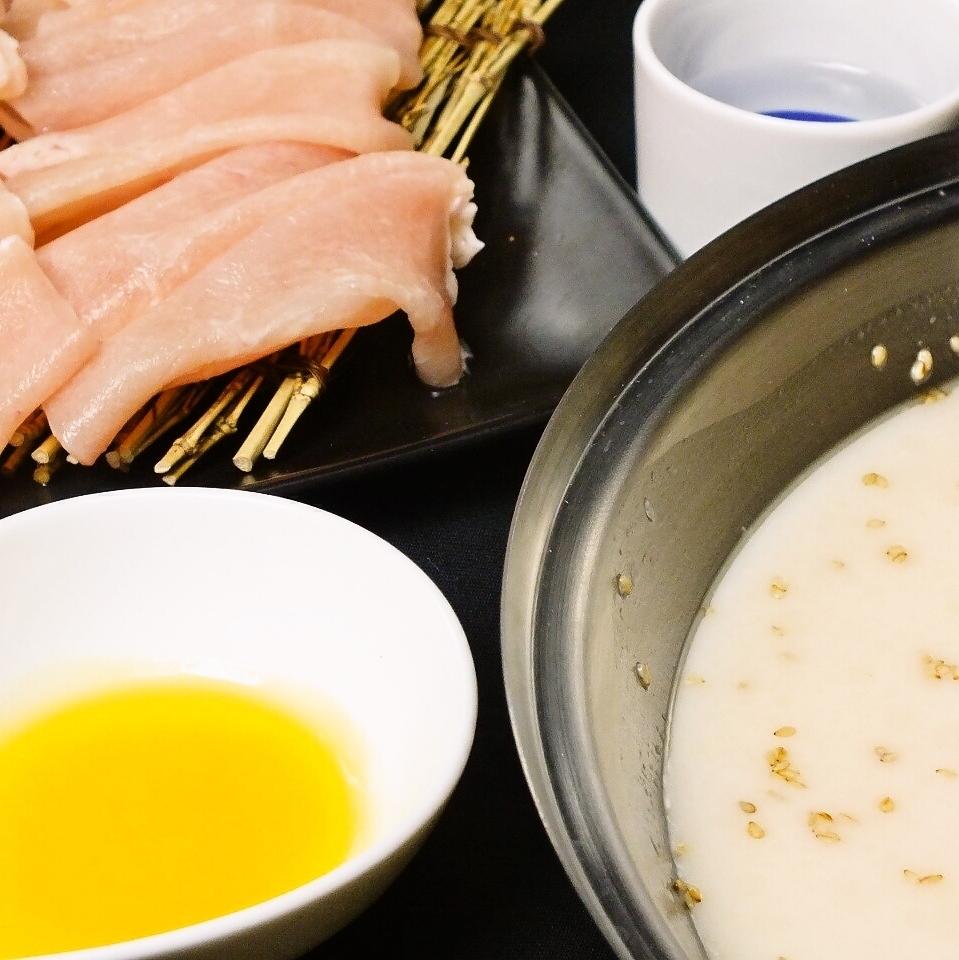 膠原蛋白雞涮鍋(100克) - 雞肉起源於北海道·櫻花姬