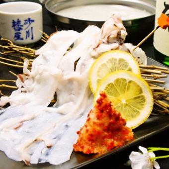 タコしゃぶ(90g・雪見鍋)ー稚内産
