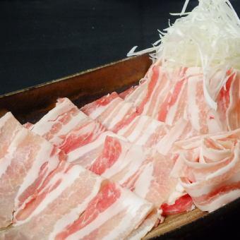 高档品牌·农家猪寿喜烧100分钟都可以吃3400日元