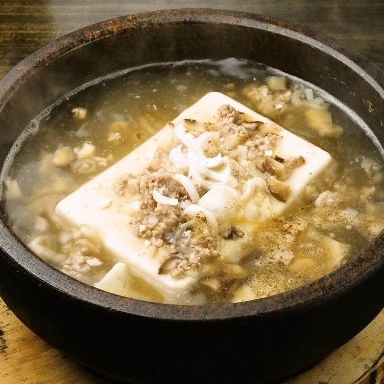 白Mabuso豆腐(中國辣椒)