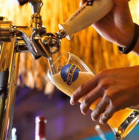 藍月亮生啤酒
