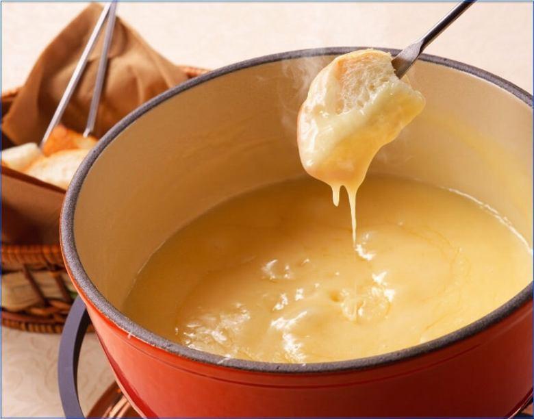 ♪ チーズフォンデュ ♪