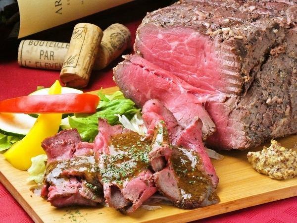 自製的烤牛肉香醋源