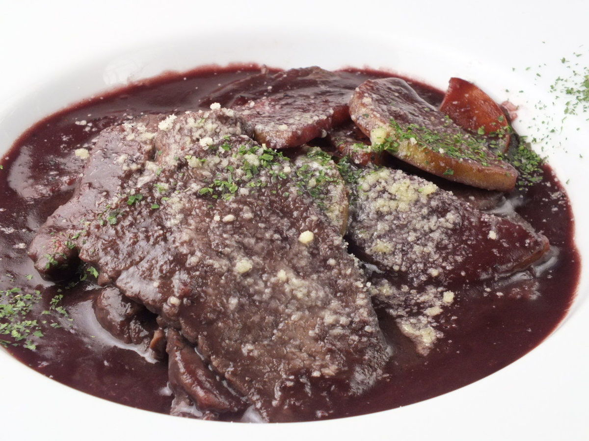 Red wine stew of beef