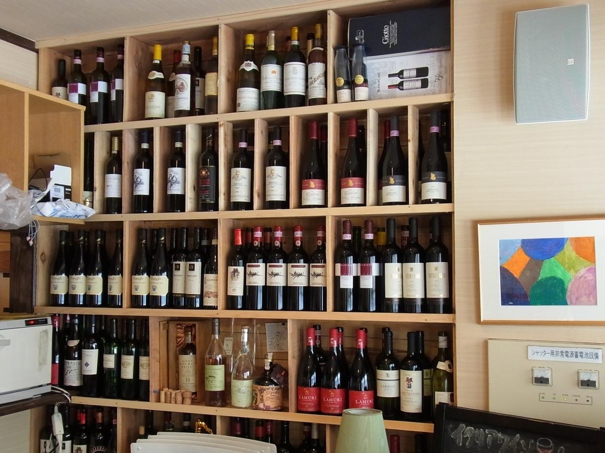 各种意大利葡萄酒