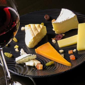 Cheese × Wine