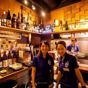A staff filled with energy with a smile greets you! A happy benefit of doing stuff and a grand prix schedule is also a pleasant izakaya that you want to go once more, even want to go every single day ★ Meat Bonenkai ★