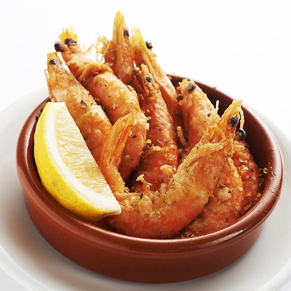 Shrimp Salt Frit