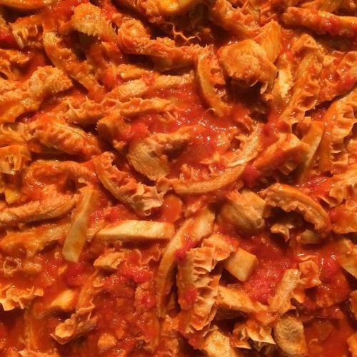 ハチノスのトマト煮