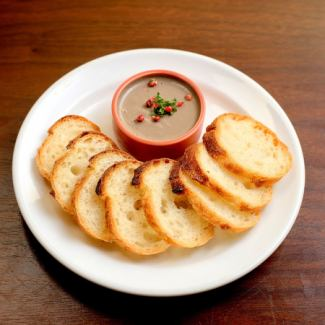 Prefectural chicken liver paste ~ with baguette ~