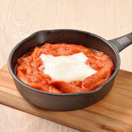 煮番茄酱鸡肉