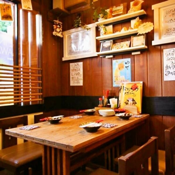This seat can change the specification to half a single room if you request it! Perfect when you want to spend slowly without worrying about surroundings such as family and girls' association with small children ◎.※ If you would like a half-size room, please tell the staff when making your reservation.