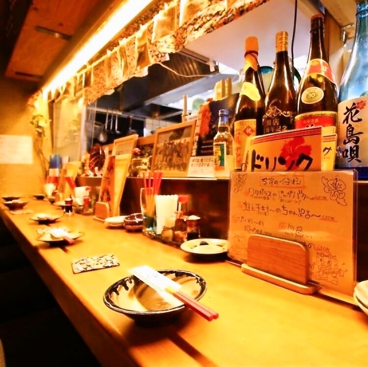 在与店主和我周围的顾客交谈时,Saku饮料也很好喝