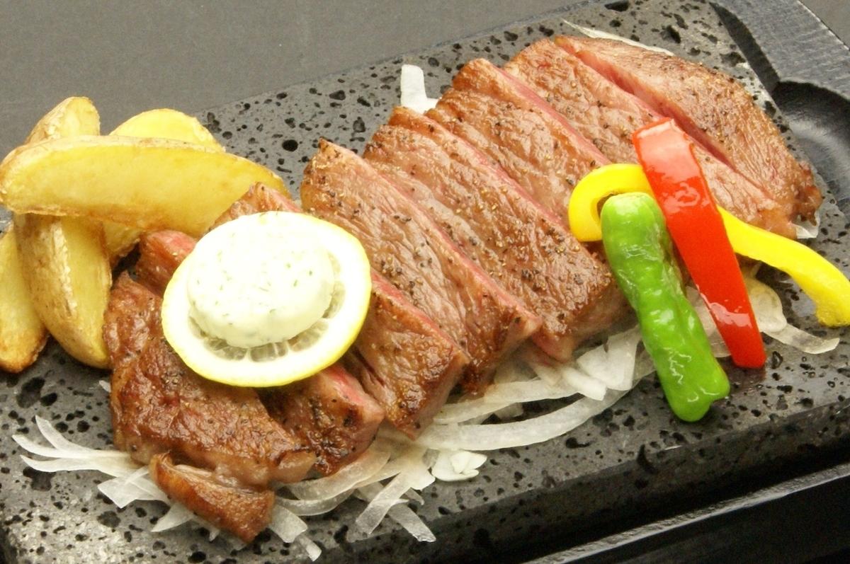 米沢牛サーロインステーキ (180グラム)