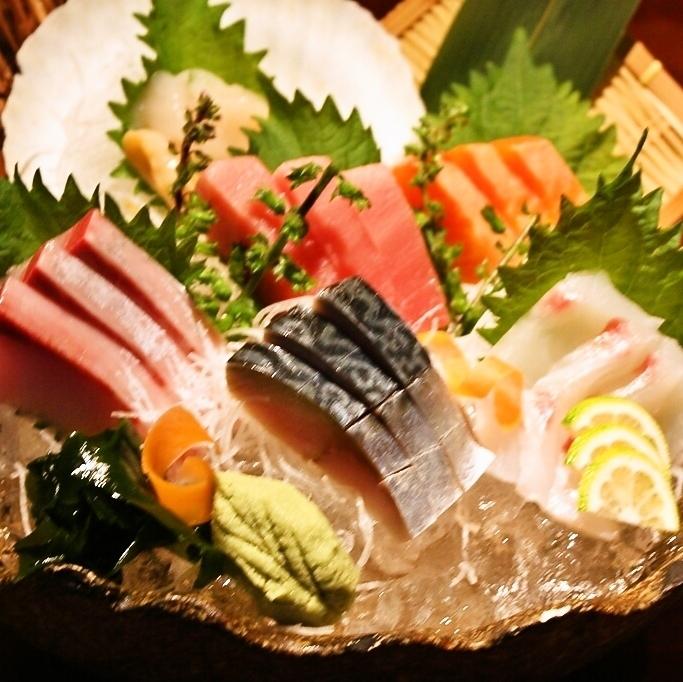 【上圖】生魚片素(2-3人)