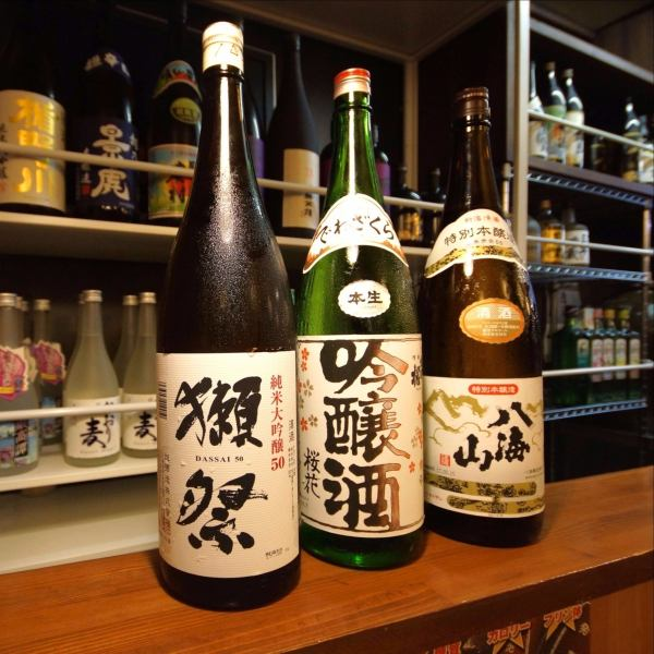 Spacious light is comfortable and comfortable preeminent space.We also have counter seats so it's perfect for single persons to drink.We also have selected sake and authentic shochu.Please enjoy it together with fulfilling snacks made by experienced shopkeepers.