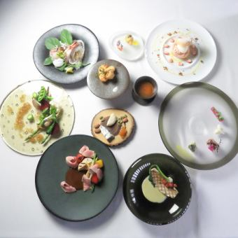 [Recommended for dating, anniversary, various banquets] 9 dishes Random French 8640 yen course