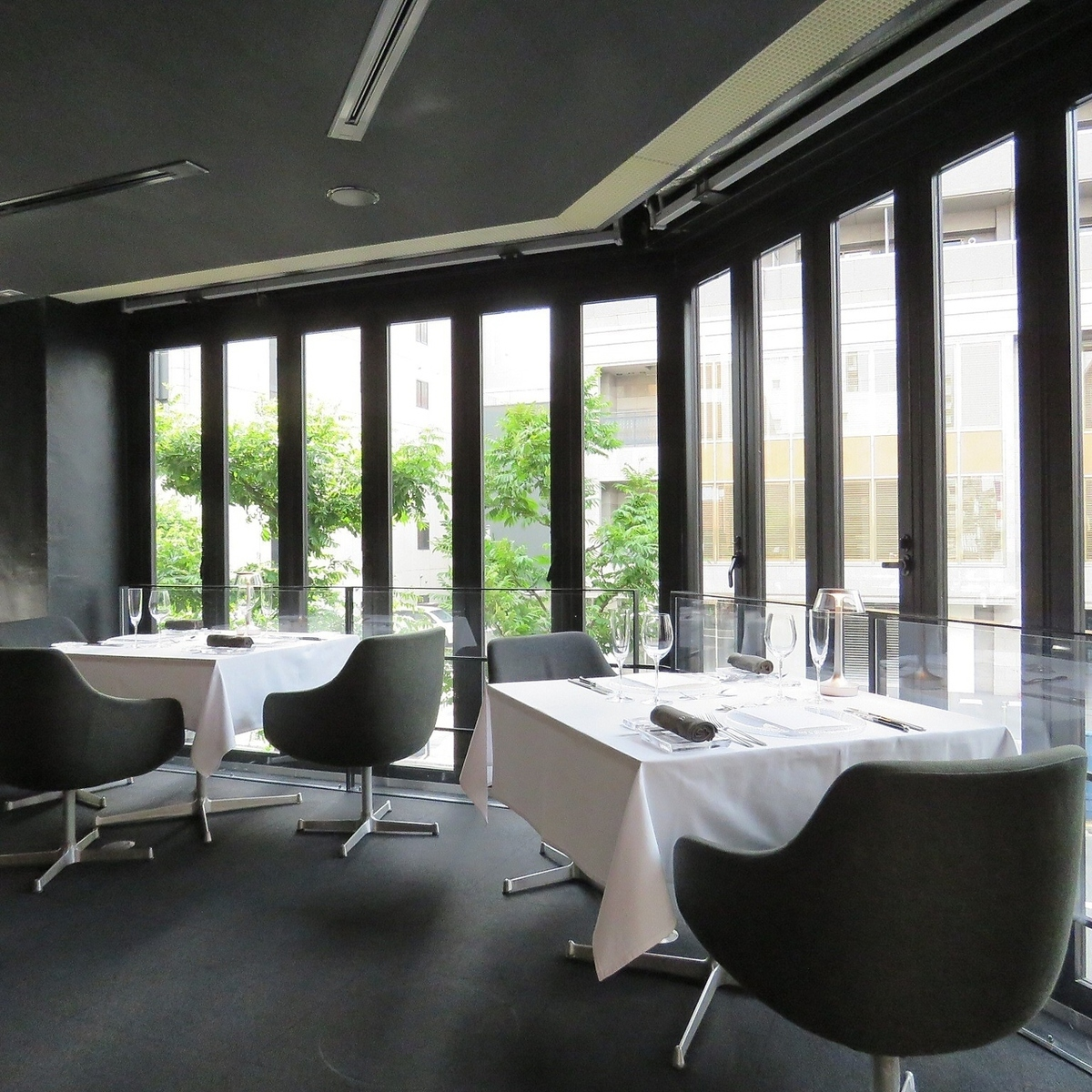 Enjoy fine cuisine in a fine space away from the noise of the city.