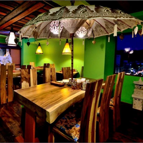 Furniture bali is all direct shipment ☆ It is a preeminent atmosphere, you can enjoy authentic Thai and Balinese cuisine.Available in various scenes such as dates · girls' sociations · drinking party ♪ Reservation as soon as possible.