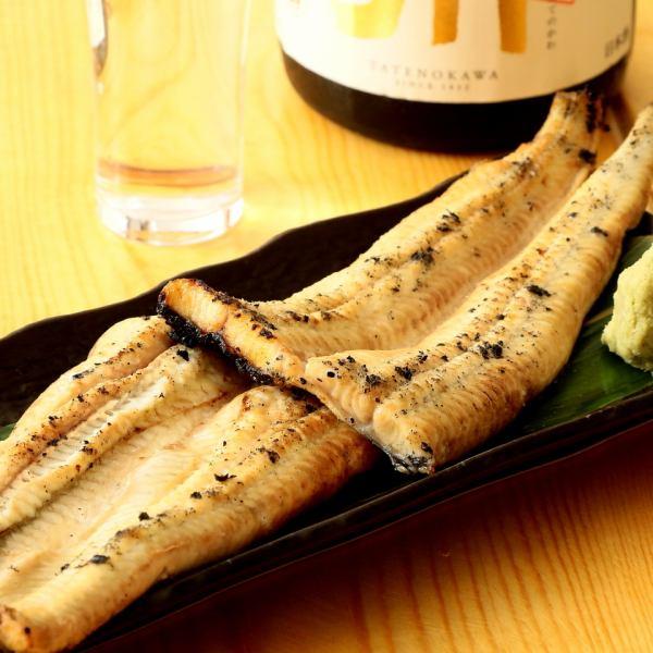 鰻(鰻魚,白烤)