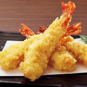 Great shrimp tempura
