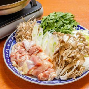 鶏すき煮鍋