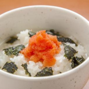 茶泡饭(鲑鱼,梅)