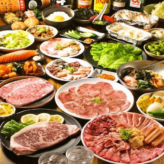 行列のできる食べ放題のお店。予算3000円で感動の満足度。
