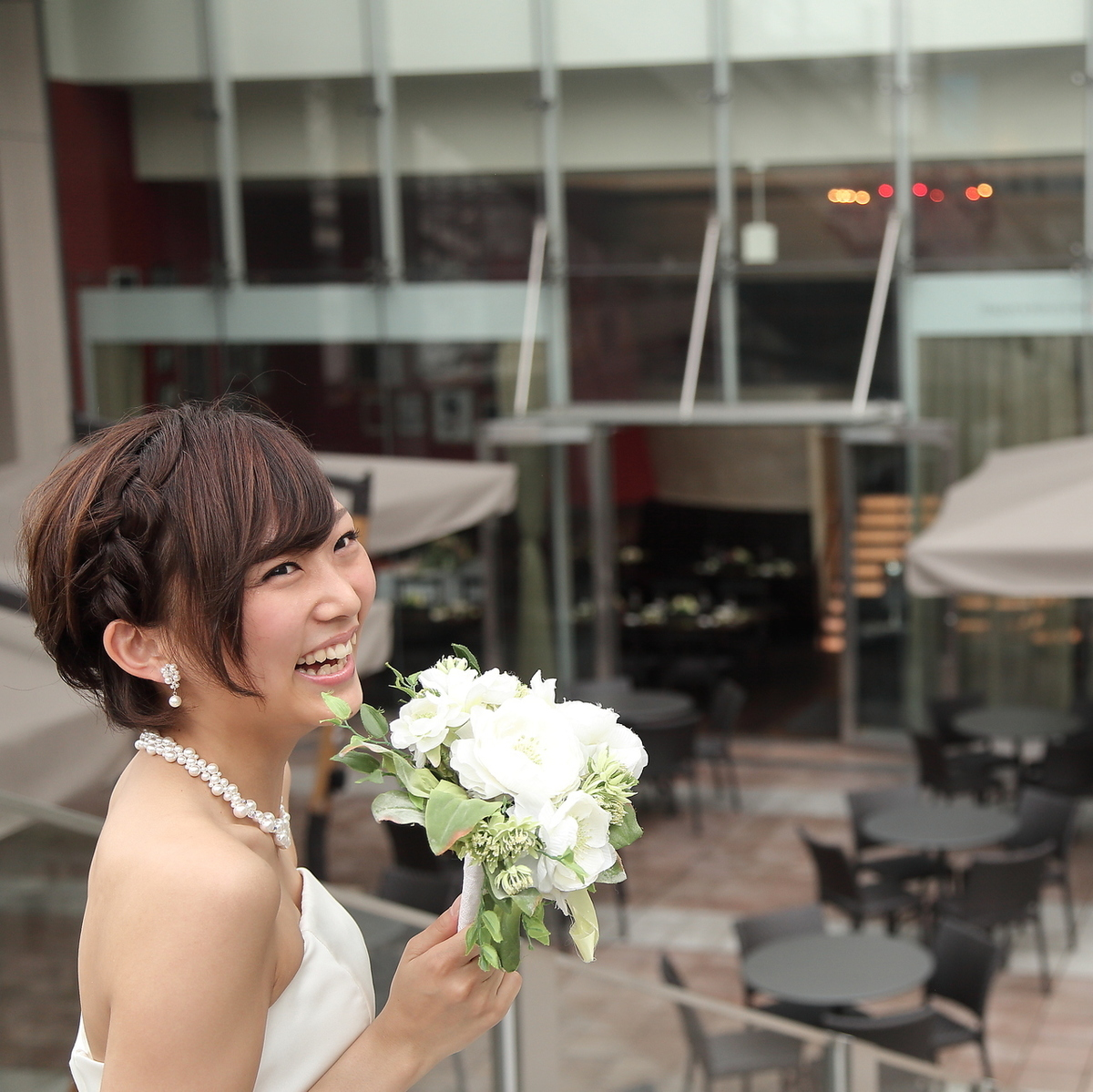 We are also accepting inquiries of the wedding second party! Warmly warm day, of course, in the night a night view is seen in a fantastic space! Free at the charter ♪