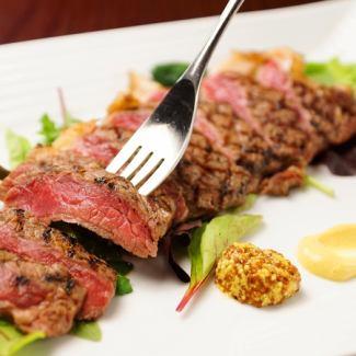 Specialty cattle sirloin steak