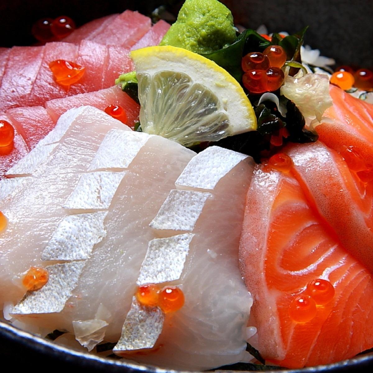 해물 덮밥