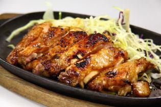 国産鶏もも一枚焼き600円ー
