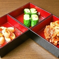 三種kimuchi