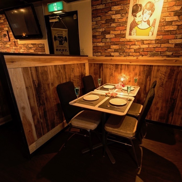 It is a very popular private room with a large monitor ★ Popular shop for watching sports and welcome party ♪