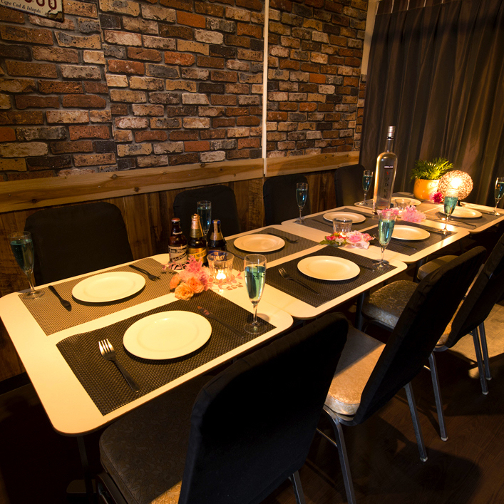 Private room space boasting atmosphere that can respond to various situations ♪ We are a private room space ideal for various banquets such as girls' union, birthday party, welcome reception party ♪
