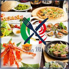 «Aqueduct Bridge 1 min walk» I boast of creative dishes and hot pot.All course 3 hours with all you can drink 2480 yen ~!
