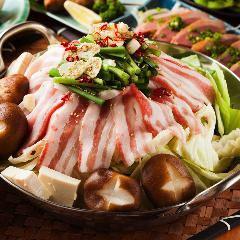 """[和牛/牛排]ד3H所有你可以饮用×红牛牛排和锅当然"""" <所有10种菜肴>5980日元日元(含税)⇒4980"""