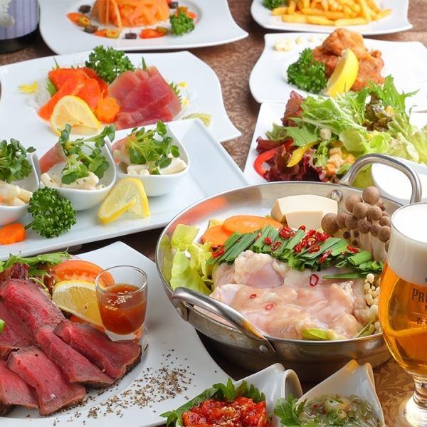 ☆とにかくたくさん食べたい!そんな方におすすめの鍋コース☆