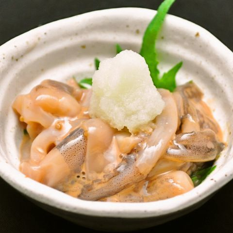 Squid's salted fish