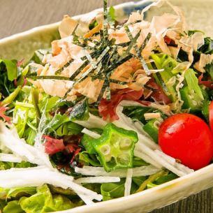 Gooey seaweed salad
