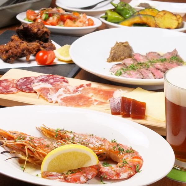 [Recommended for banquet ◎] craft beer you can drink course 5000 yen (tax included)