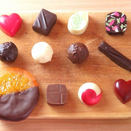 チョコレート全種盛合せ