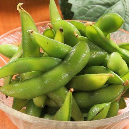 枝豆/塩キャベツ
