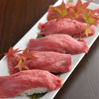"""【COSPA ◎】 3 hours free all you can drink """"Meat SUSHI or Cheese Taccarbie all you can eat"""" 【6 items in total / 2980 yen】"""