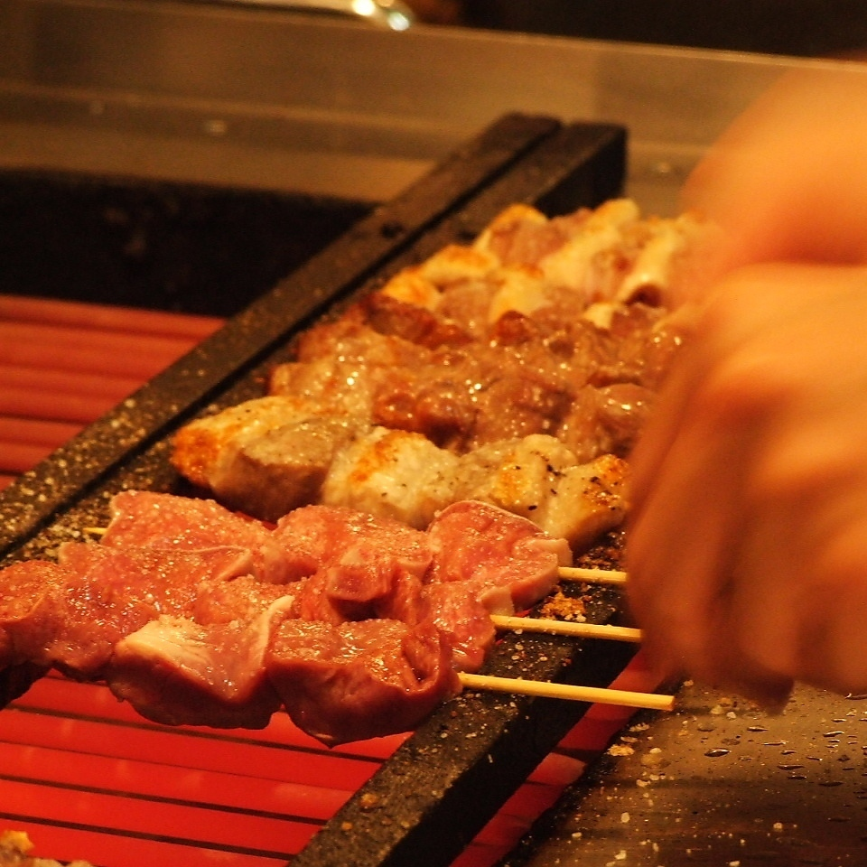 【Ikushiki entrance】 Courtesy grilled offering carefully, with all my heart!
