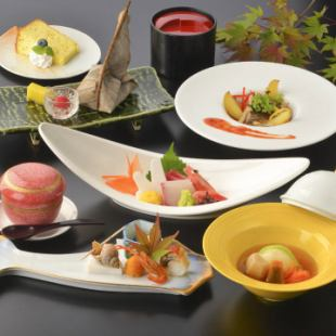 [5] 【Banquet seat course】 5,400 yen (9 dishes + 120 minutes with unlimited drinks) ~ Miscellaneous items in January ~